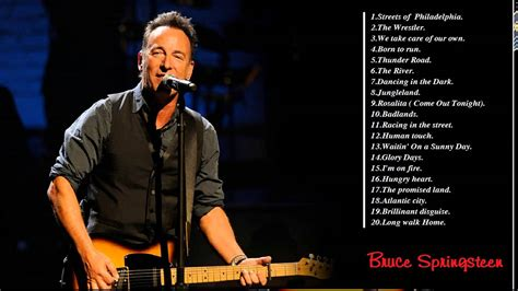 These songs of Bruce Springsteen   Bruce Springsteen ...