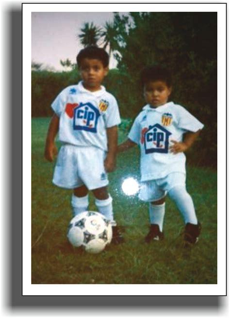 Thiago y Rafinha cuando Mazinho jugaba en el Valencia CF ...