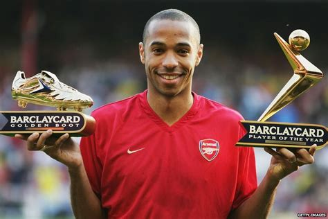 Thierry Henry: Arsenal legend's career in pictures ...