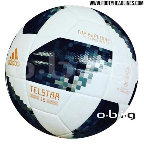 This image shows the Adidas Telstar 18, official ball of ...