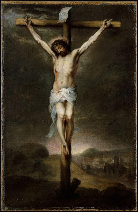 This is a beautiful crucifixion painting by Andrea da ...