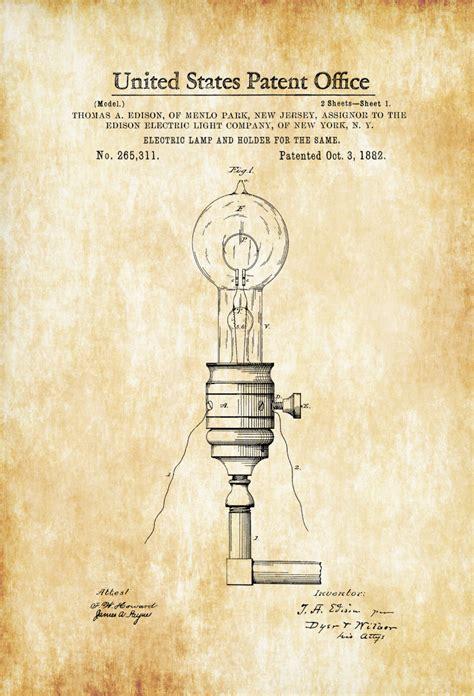 Thomas Edison Light Bulb Patent | www.pixshark.com ...