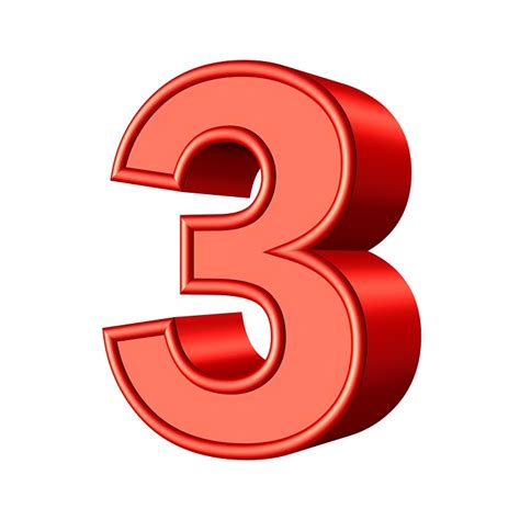 Three 3 Number · Free image on Pixabay