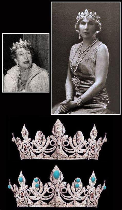 Tiara de la reina Victoria Eugenia de España, realizada ...