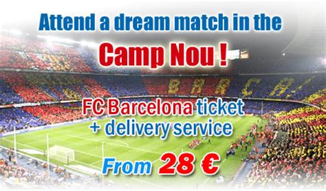 Tickets Fc Barcelone