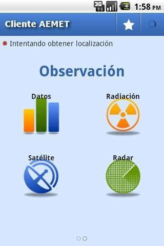 Tiempo AEMET | Android | Española Apps