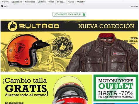 Tienda online moto producto Motobuykers