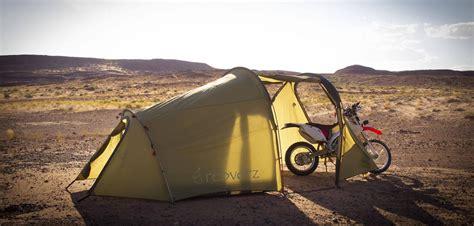 Tiendas de acampada para llevar en la moto - Trail & Scrambler