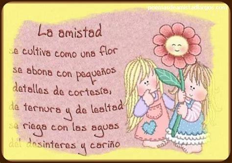 Tiernos Poemas Cortos de Amistad para Niños | Poemas de ...