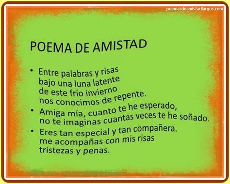 Tiernos Poemas de Amor y Amistad | Poemas de Amistad Largos