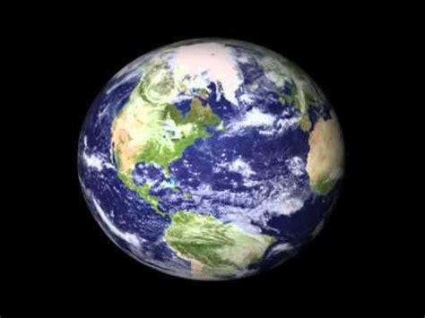 Tierra rotando animacion 3D   YouTube