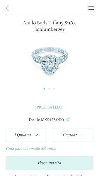 Tiffany lanza app para elegir el anillo de compromiso de ...