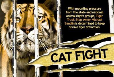 TIGER TRUCK STOP: Free Tony The Tiger