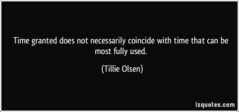 Time granted does not necessarily coincide with time that ...