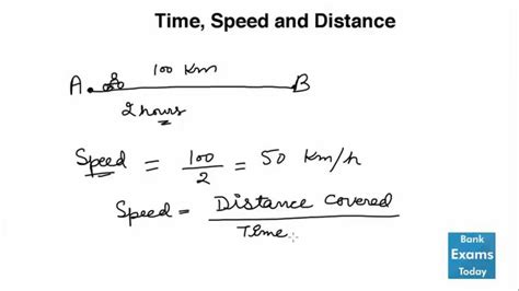 Time Speed and Distance   Tricks to solve quickly   YouTube