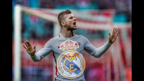 Timo Werner to Real Madrid in january transfer window ...