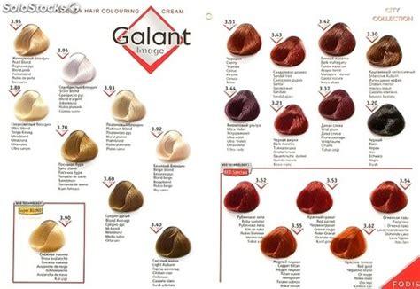 Tinte Cabello Gama De 28 Colores Gama De Colores Color ...