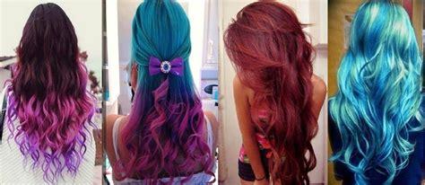 tinte pincelle para cabello color rojo azul fucsia o lila ...