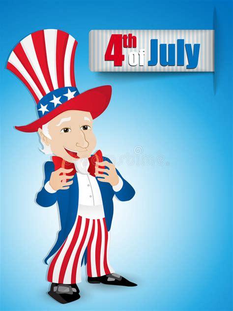 Tío Sam Del Día De La Independencia De Estados Unidos Foto ...
