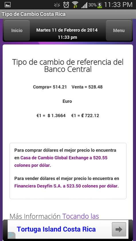Tipo de Cambio Costa Rica App Ranking and Store Data | App ...