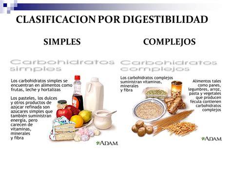 Tipos de carbohidratos