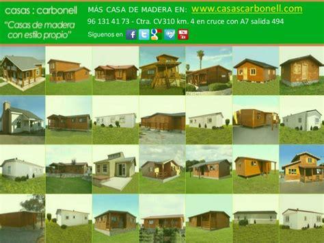 Tipos de casas de madera y prefabricadas