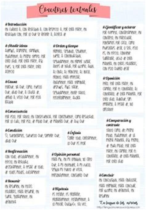 TIPOS DE CONECTORES LINGÜÍSTICO ARGUMENTATIVOS   Textos y ...