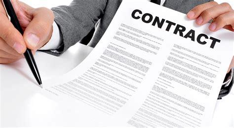 Tipos de contratos - Tipos de