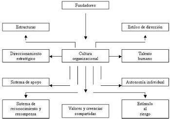 Tipos de culturas organizacionales