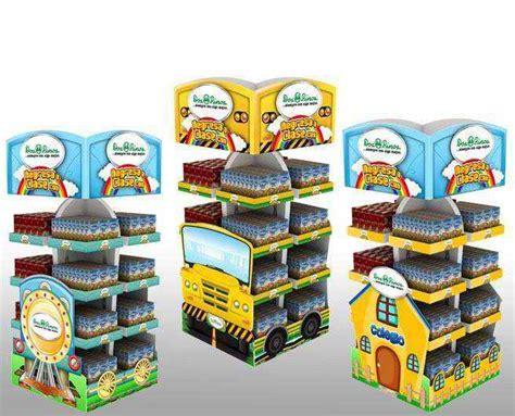 Tipos de exhibidores de cartón | Cyecsa