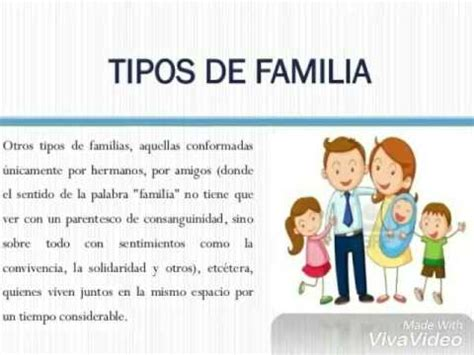 Tipos De Familia Para Ninos | www.imagenesmy.com