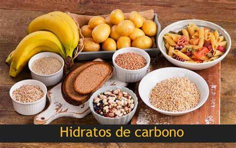 Tipos de Hidratos de Carbono y su Índice Glucémico