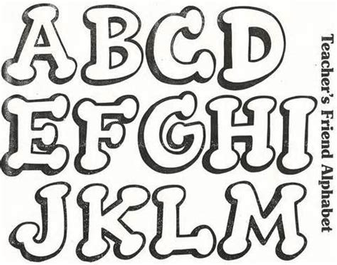 Tipos de letras bonitas para carteles   Imagui | letras ...