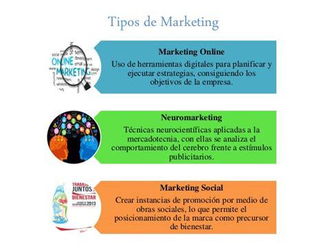 Tipos de marketing