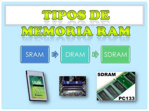 Tipos de memoria ram 1