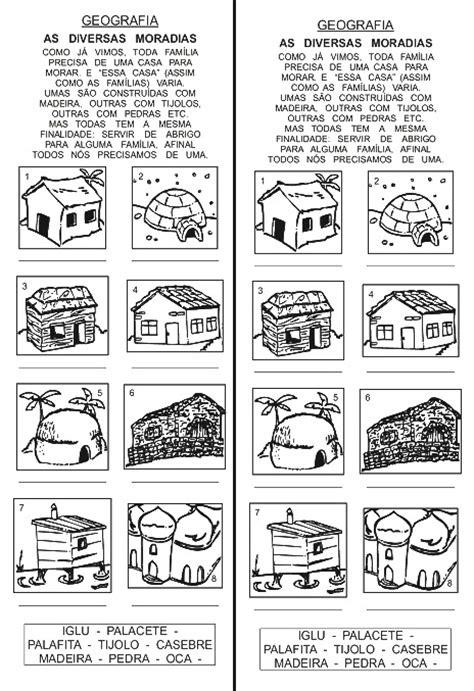 TIPOS DE MORADIAS:ATIVIDADES DE GEOGRAFIA, AS DIVERSAS ...