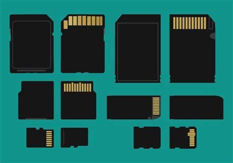 Tipos de tarjetas de memoria Vector   Descargue Gráficos y ...