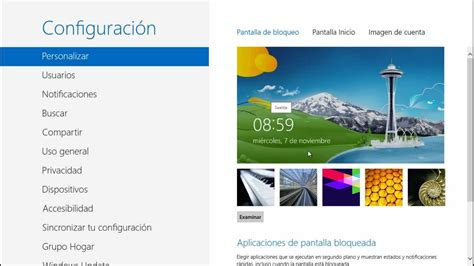 Tips, Trucos, Secretos Windows 8 Modificar la Pantalla de ...