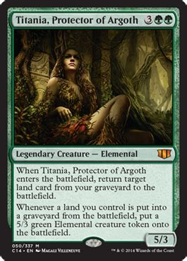 Titania, Protector of Argoth from Commander 2014 Spoiler
