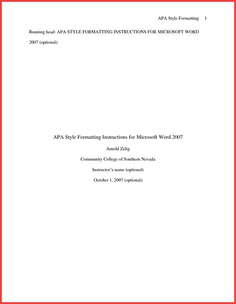 title apa format cover page exles apa title page exle 2016 ...