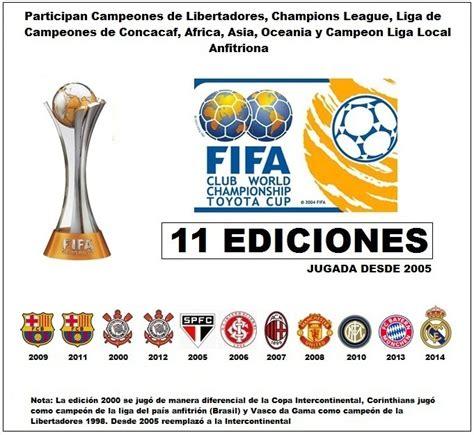 Todas las copas  clubes  mas importantes del mundo 2014 ...