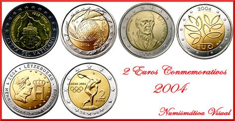 Todas las monedas de 2 euros conmemorativas 2004 ...