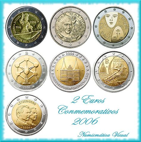 Todas las monedas de 2 euros conmemorativas 2006 ...