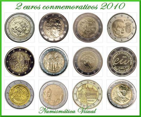 Todas las monedas de 2 euros conmemorativas 2010 ...