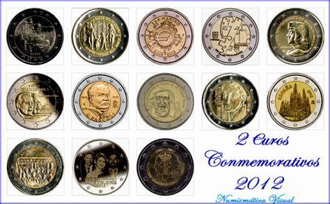 Todas las monedas de 2 euros conmemorativas 2012 ...