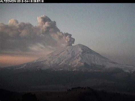 Todo listo por actividad del Popocatépetl ...