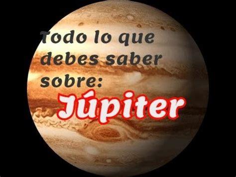 Todo lo que debes saber sobre Júpiter   Sistema Solar ep ...