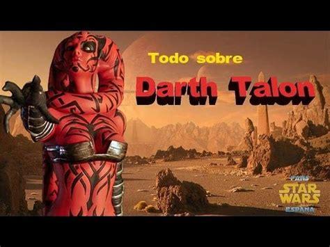 Todo sobre Darth Talon   Star Wars Fans España   YouTube