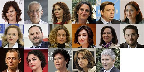 Todos los ministros del Gobierno de Pedro Sánchez | España