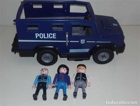 todoterreno furgón de policía playmobil 5187 y   Comprar ...